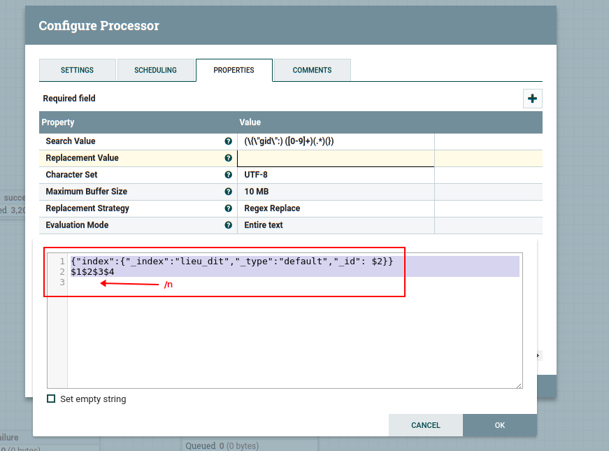Apache nifi with Elasticsearch experiment